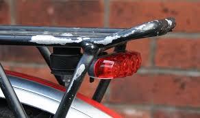 rear bike light rack mount rear bicycle light rack mount cosmecol