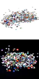 visit to buy mixed colors non hotfix resin rhinestones 1000pcs 2