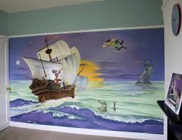 28 peter pan wall mural peter pan mural tinkerbell disney peter pan wall mural mural portfolio