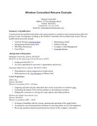 consulting resume sample verizon wireless resume sample free resume example and writing wireless consultant resume mixologist resume sample