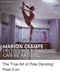 marion cra og marion cret proves pole dancing can be artistic the