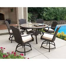 Patio High Dining Set - patio dining sets balcony height video and photos