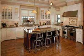 White Or Wood Kitchen Cabinets Custom Wood Cabinets And Gray Stone Countertops Are Decoration