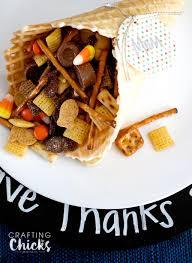 waffle cone cornucopia the crafting