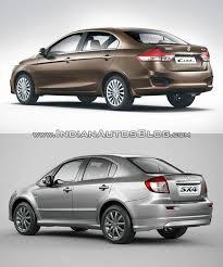 nissan sunny old model old vs new maruti ciaz vs maruti sx4