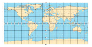 World Map With Hemispheres by Nga Geomatics Coordinate Systems