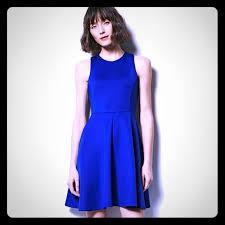 71 off milly for designation dresses u0026 skirts fit u0026 flare scuba