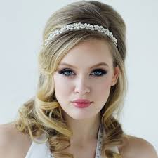 bijoux tete mariage serre tête headband bijoux de tête coiffure mariée chignon