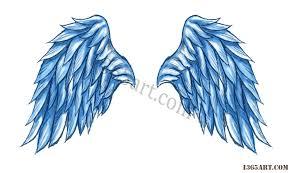 wings drawings designs
