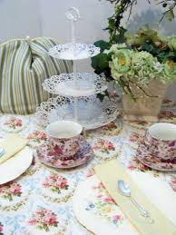 Table Setting Ideas Magnificent Tea Party Table Setting Ideas 37 Concerning Remodel