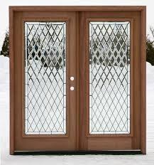 full glass entry door exterior double doors full lite double doors