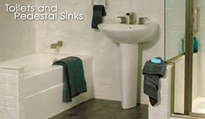 Bathroom Sinks With Pedestals Toilets And Pedestal Sinks Pacific Coast Re Bath Bathroom