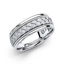 white gold mens wedding band 14k white gold mens wedding band wedding bands wedding ideas and