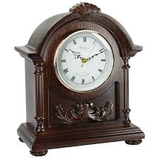Mantel Clock Plans Amazon Com Bedford Clock Collection Wood Mantel Clock With Chimes