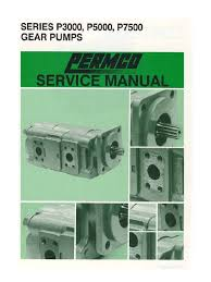 service manual 300050007500 permcon pump valve