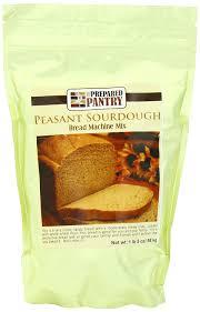 Bread Machine Sourdough Recipe Amazon Com The Prepared Pantry Bread Machine Mix Sourdough