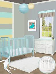 Wooden Nursery Decor by Bedroom Pretty Nursery Decoration With Brown Jenny Lind Crib Plus