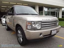 metallic land rover 2003 land rover range rover hse in white gold metallic photo 4