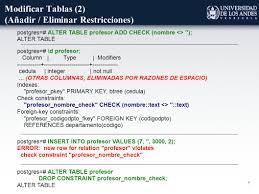 Postgresql Alter Table Add Column 1 Sql La Guía Básica De Supervivencia De Dmi Universidad De