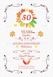 anniversary invitation templates u2013 28 free psd vector eps ai