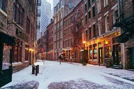 beautiful new york landscapes during winter