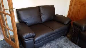 Small Leather Sofas 2 Seater Small Leather Sofa In Kelso Scottish Borders Gumtree
