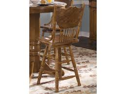 24 Inch Bar Stool With Back Liberty Furniture Nostalgia 10 B51724 Mission 24 Inch Press Back