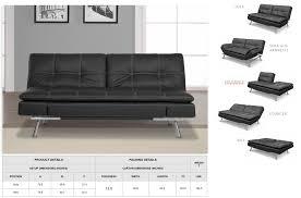 Jackson Leather Sofa Convertible Sofa Futon Centerfieldbar Com