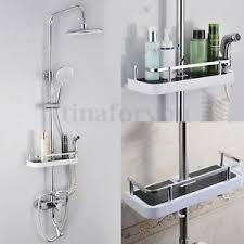 Bathroom Shower Storage Bathroom Pole Shelf Shower Storage Caddy Rack Organiser Tray