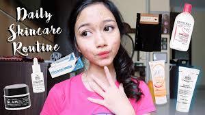 Scrub Tiff daily skincare routine ft tiff giveaway bahasa skin