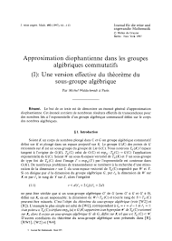 What Are Basic Computer Skills For Resume Approximation Diophantienne Dans Les Groupes Algbriques
