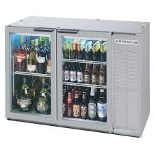 beverage cooler with glass door beverage air bb48gy 1 ss led wine 48