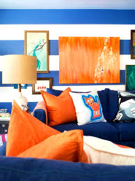 apartments archaicfair orange and blue bedroom brown white ideas