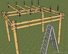 Inexpensive Pergola Kits by How To Build A Bamboo Pergola Step 1 Choose The Appropriate