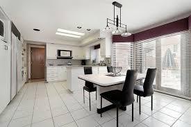 Best Kitchen Floors by White Tile Kitchen Floor Dansupport