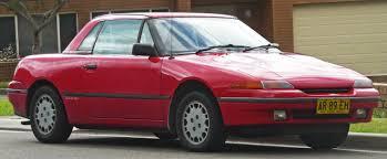 mazda convertible 90s curbside classic 1991 mercury capri u2013 birds of a feather