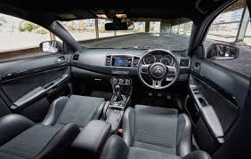 mitsubishi crossover interior 2015 mitsubishi lancer evolution final edition on sale now 150 only