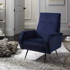 Retro Accent Chair Fox6258c Accent Chairs Furniture By Velvet Chairs And Furniture