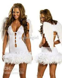 Halloween Costumes Angel Cheap Halloween Costumes Party White Angel Costume