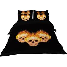 online get cheap skull bed sets full aliexpress com alibaba group