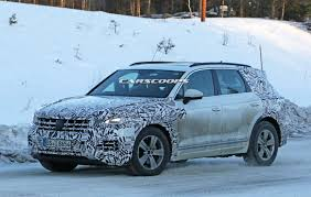 vwvortex com next generation volkswagen touareg spied for the