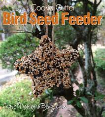 craft ideas and more from davet designs cookie cutter bird seed