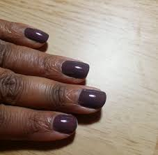polishing my nails houseful of nicholes