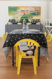 yellow foo dogs13th birthday ideas kara s party ideas kung fu panda birthday party kara s party ideas