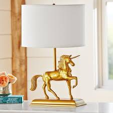 nursery table lamps unicorns kids rooms and nursery