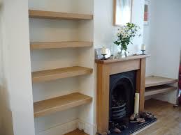 alcove shelves diy home design ideas