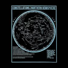 glow in the dark poster glow in the dark constellation poster space astronomy glow in