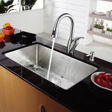 Modern Undermount Kitchen Sink by Enticing Kitchen Cabinet With Grey Granite Counter Top And Drop In