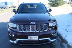 jeep summit blue 2015 jeep grand cherokee summit city mt bleskin motor company