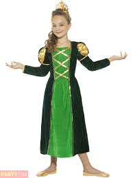Fiona Halloween Costume Girls Medieval Princess Fiona Costume Child Historical Fancy Dress